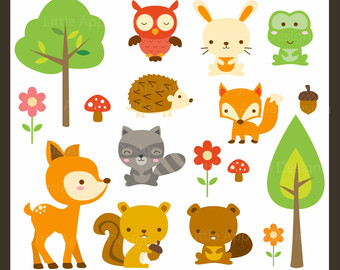 svg black and white library Woodland clipart. Free cliparts download clip
