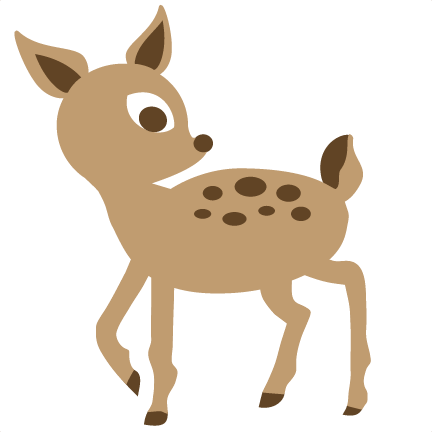 banner library download Woodland clipart deer