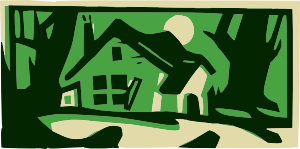 png transparent stock House in the at. Woods clipart