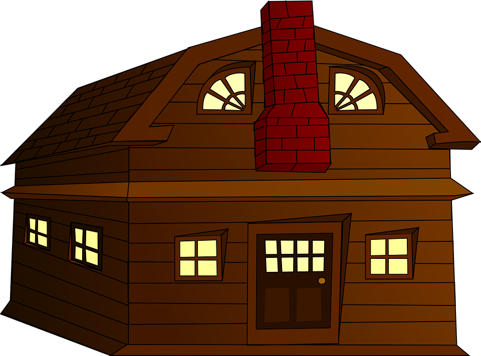 banner freeuse Collection of free Houses clipart wood