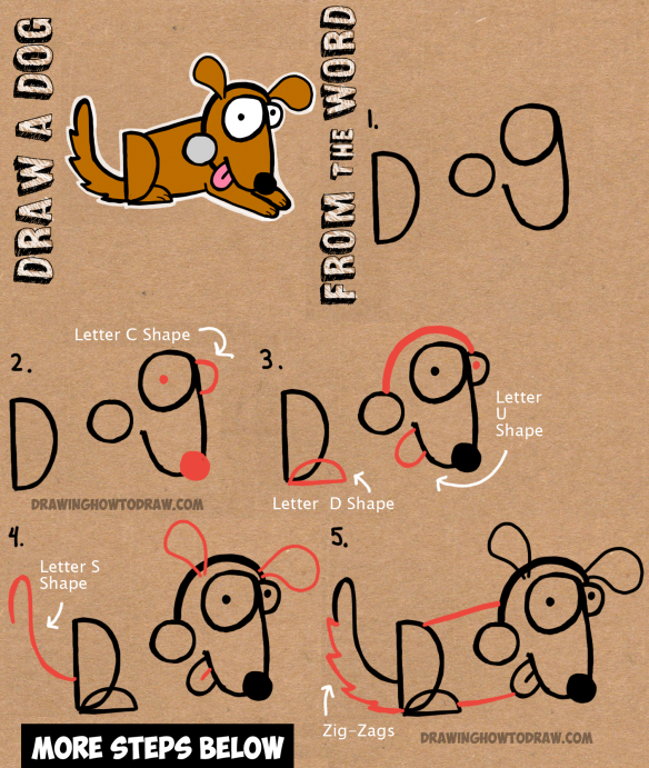 clipart library How to draw cartoon. Drawing out word