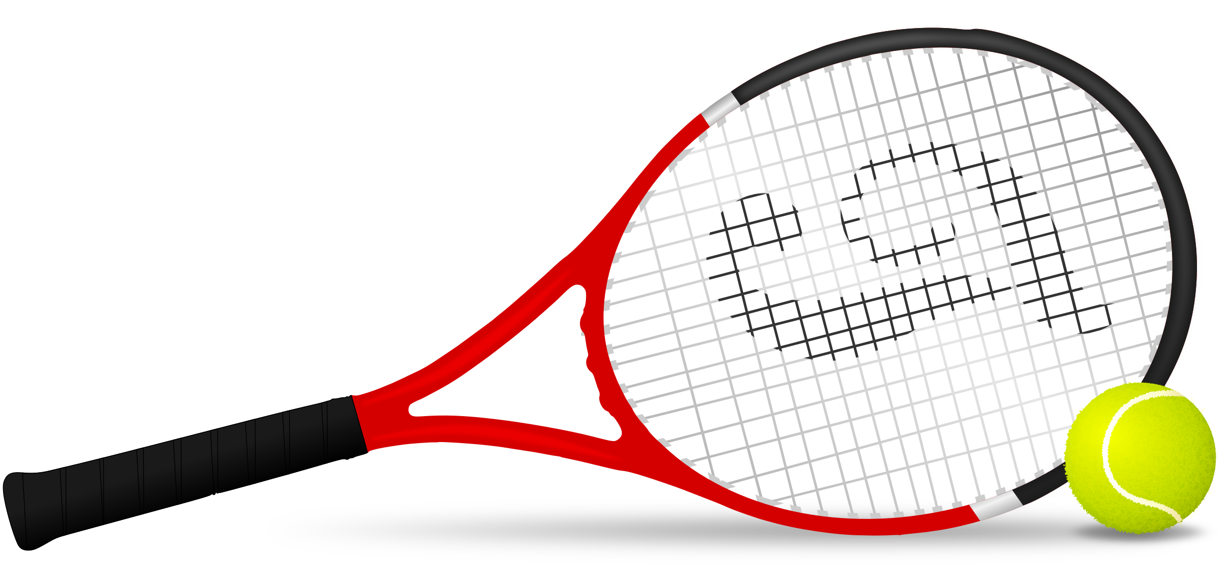 png black and white library Big image png. Clipart tennis