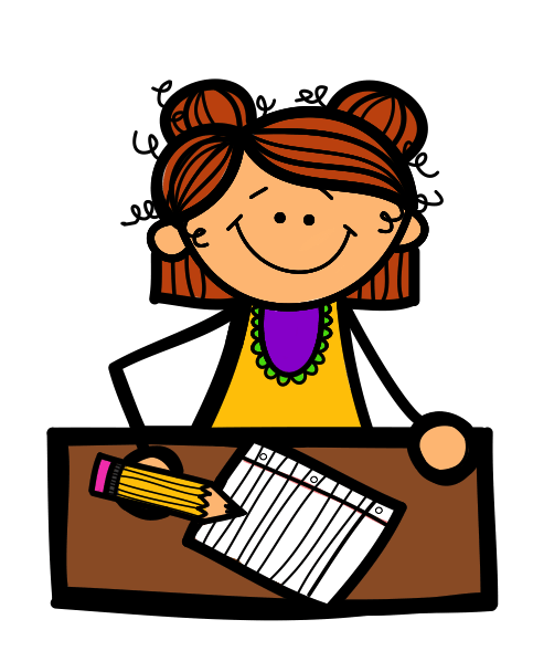 transparent  collection of student. Students working clipart.