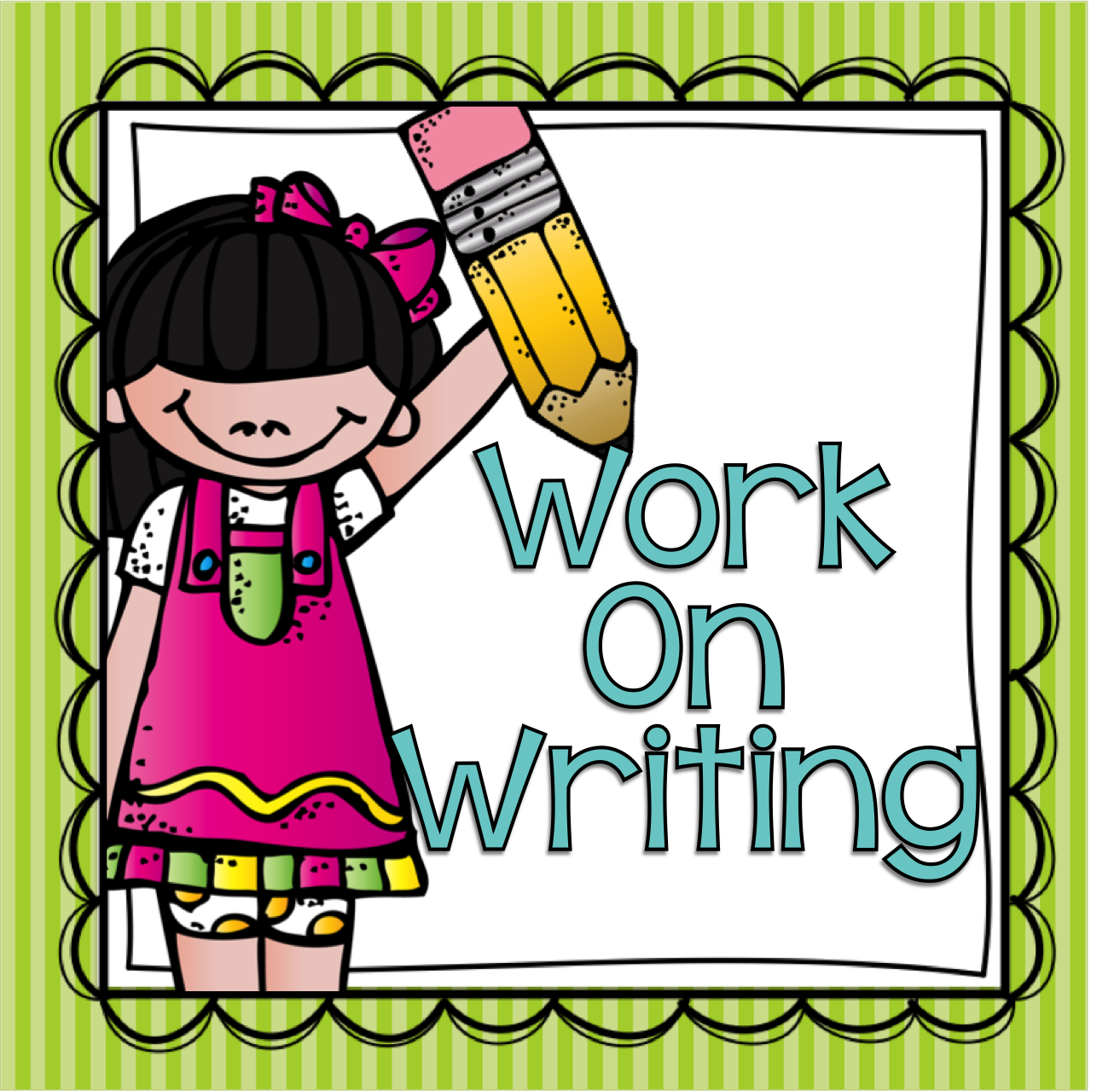 jpg royalty free library Clip art library . Work on writing clipart