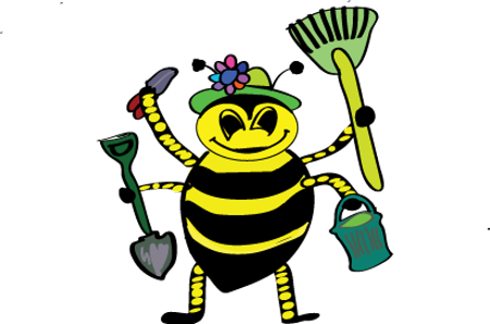 vector free stock working bee clipart #57987757