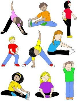 picture royalty free library Workout clipart physically. Pin on classroom