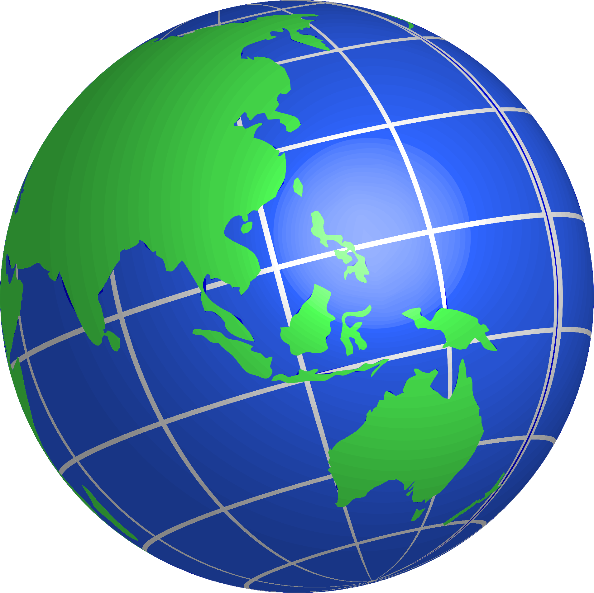 jpg library World clipart. Oceania globe big image