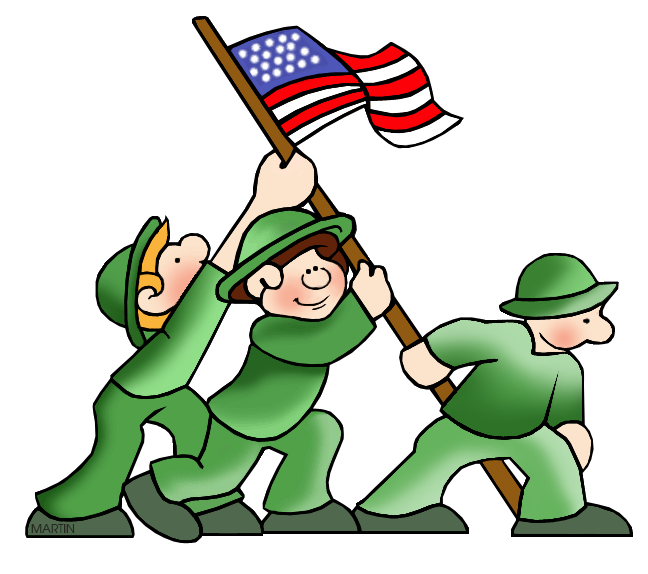 png black and white World war ii clipart