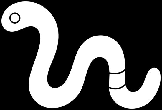 banner free Worm Clipart underground