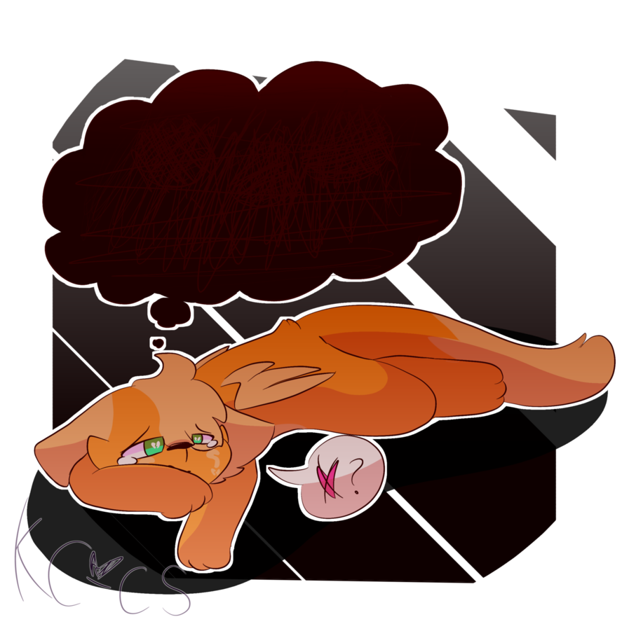 png transparent Worry clipart awed. Vent by kittencloudy u