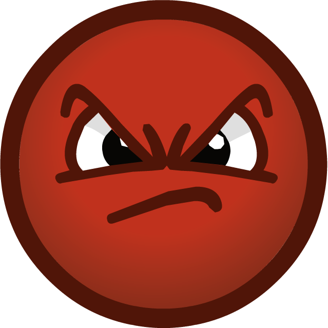 svg royalty free stock Emotions Clipart mad