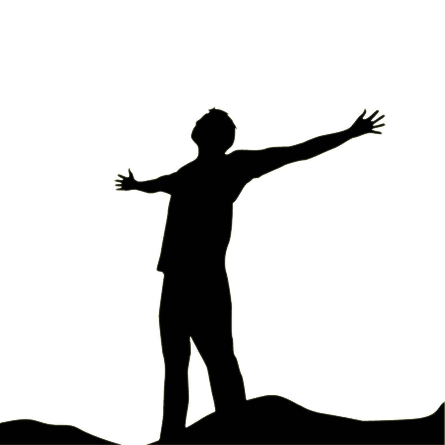 image free library Praise Dance Silhouette at GetDrawings