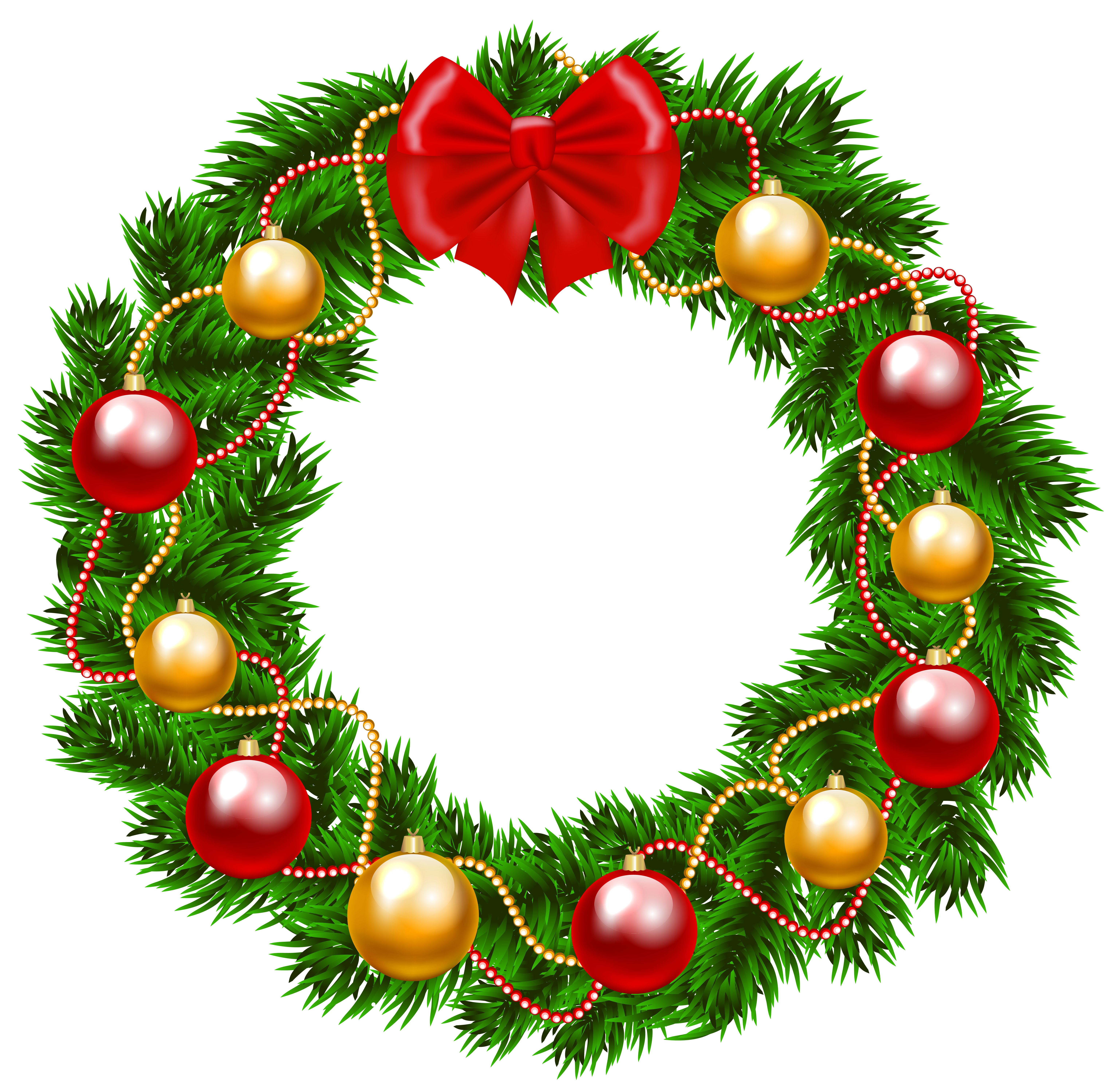 image black and white library Christmas png image gallery. Holiday wreath clipart