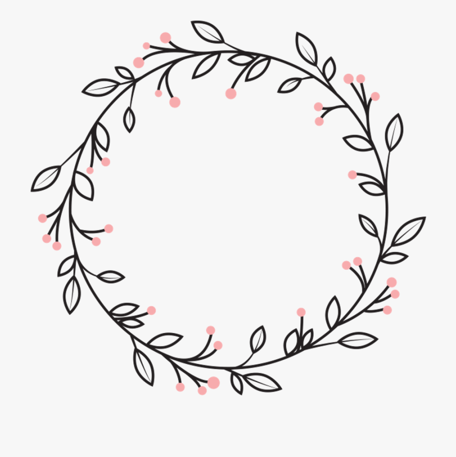 picture free stock Vine black and white. Wreath clipart.
