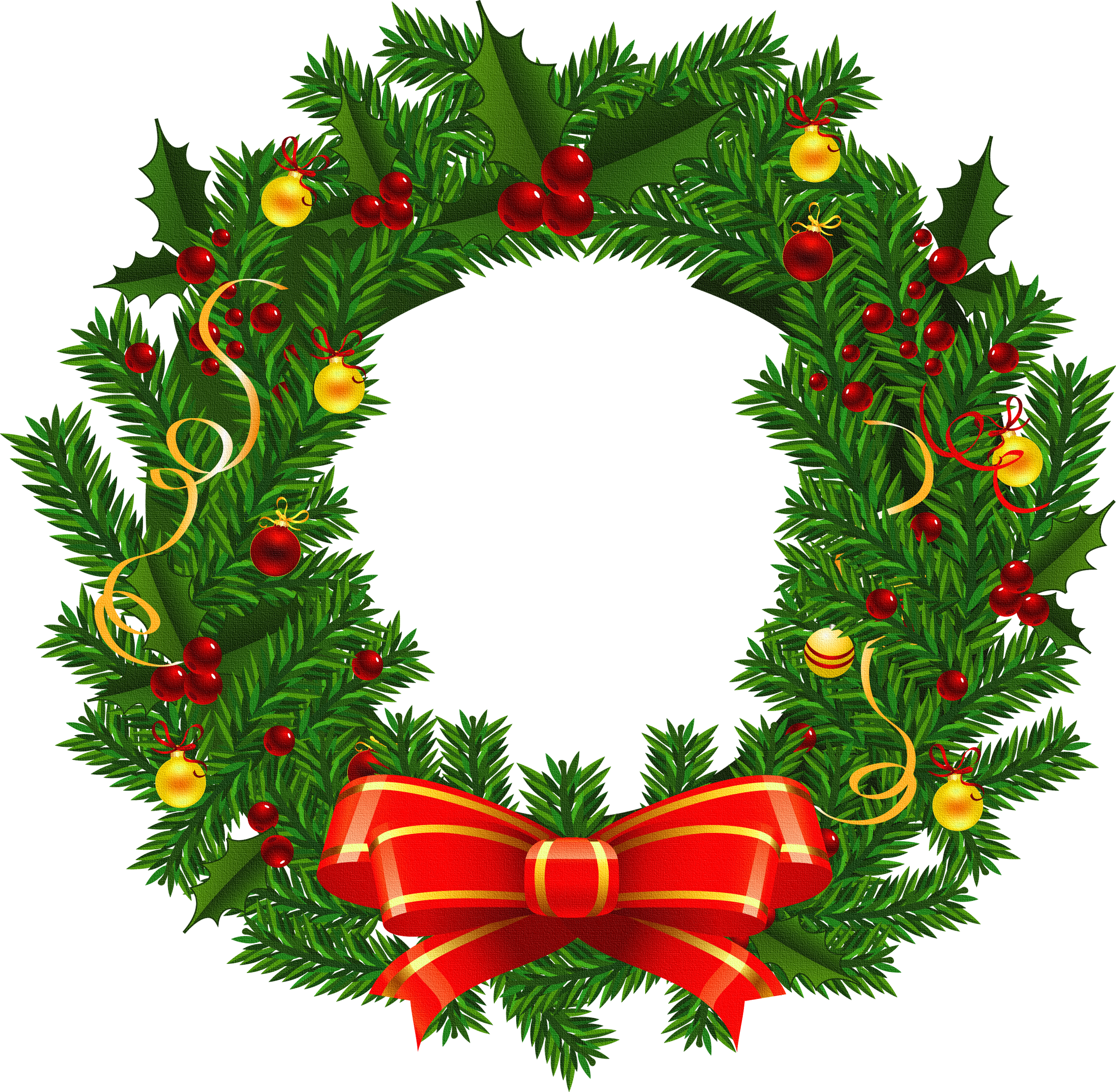 image library library Xmas clipartfest christmas pinterest. Holiday wreath clipart