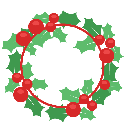 png transparent library Silhouette at getdrawings com. Clipart christmas wreath.