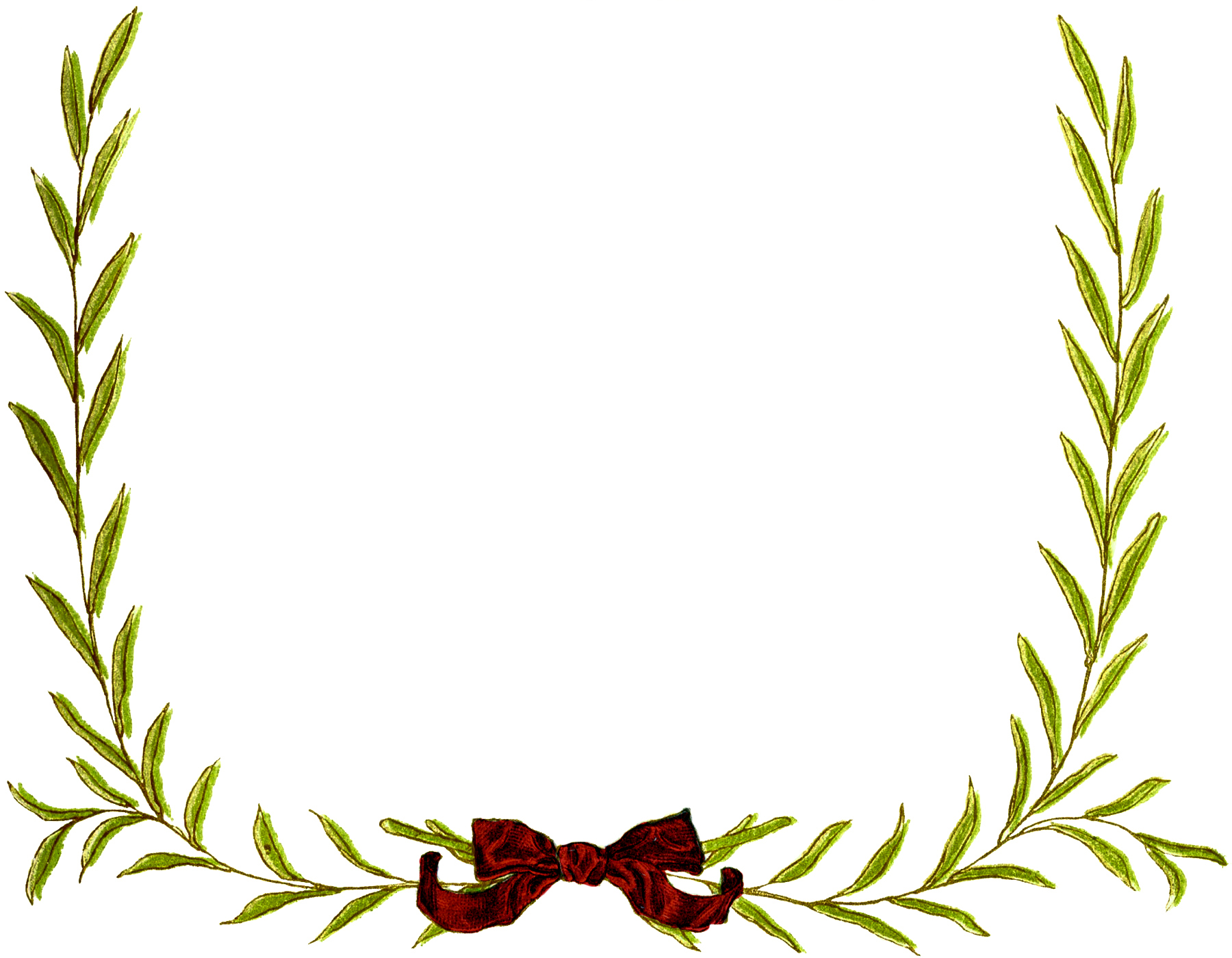picture royalty free download Wreath frame clipart.  christmas images