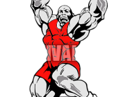 jpg free download High school wrestling drawing. Wrestler clipart