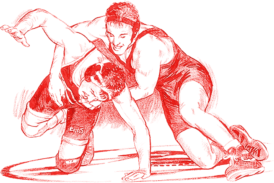 png library library Postville community district information. Wrestler clipart high school wrestling