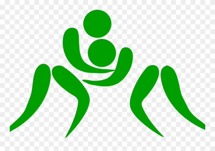 png transparent download Wrestling png women transparent. Wrestler clipart logo.