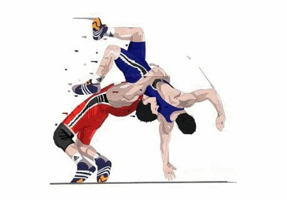 vector free library Wrestler clipart logo. High school wrestling clip.