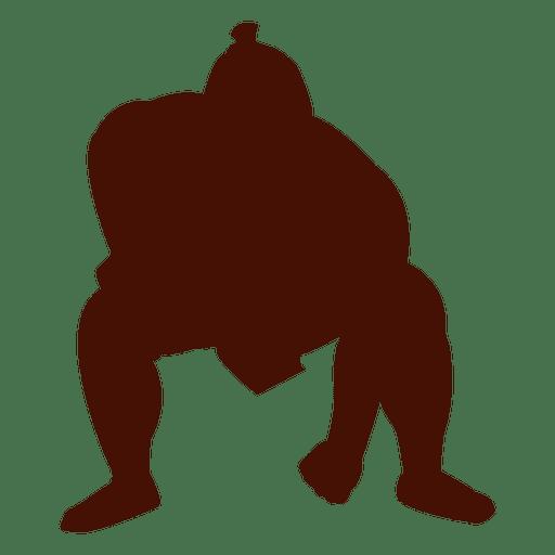 svg library Wrestler clipart sumo wrestler. Wrestling start position transparent
