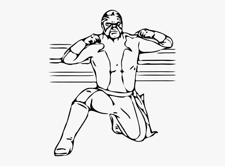 clip art library stock Wrestler clipart wrestler wwe. Raw wrestling free