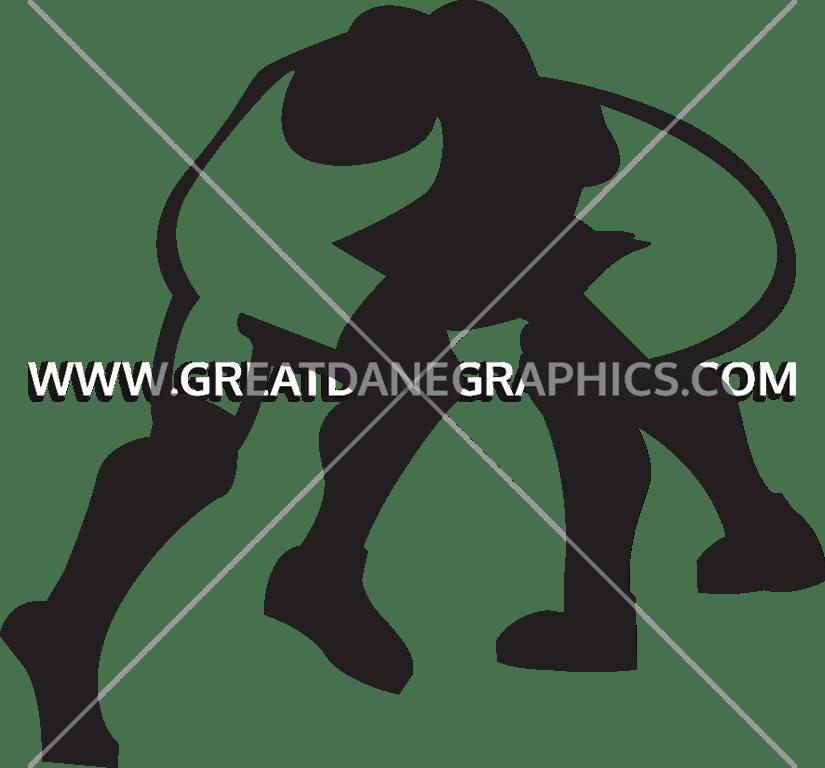clip black and white Production ready artwork for. Wrestler clipart wrestling match
