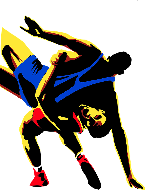 image library download Wrestler clipart wrestling match. Messages author one pro