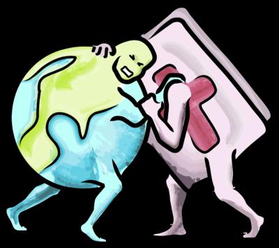 clip art black and white Wrestler clipart wrestling match. Image bible the world