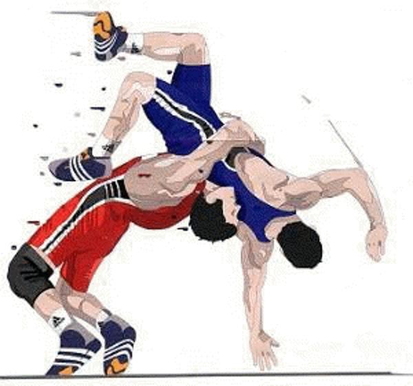 clip art stock Wrestler clipart wrestling match. Png images transparent free