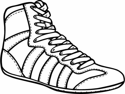 vector transparent library Wrestler clipart wrestling shoe. Shoes banquet centerpieces