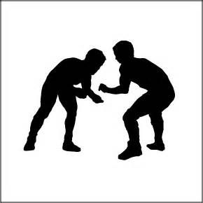 picture royalty free download Wrestler clipart logo. Free wrestling yahoo image