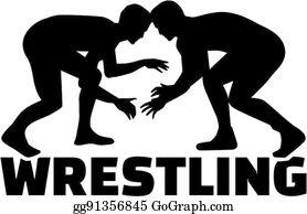 banner royalty free Wrestling clip art royalty. Wrestler clipart logo.