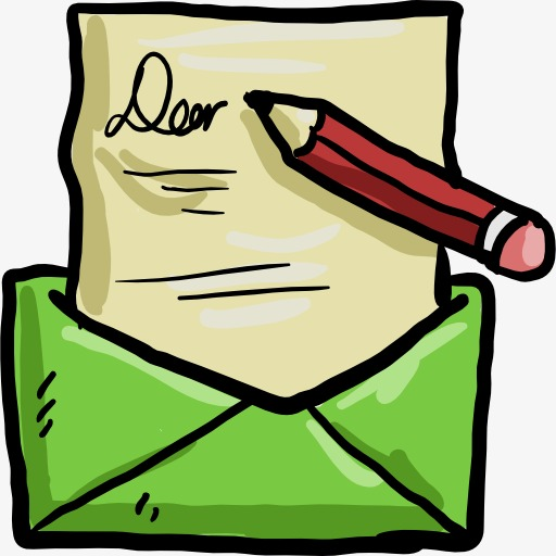 clip art library Write a letter clipart. An open envelope png.