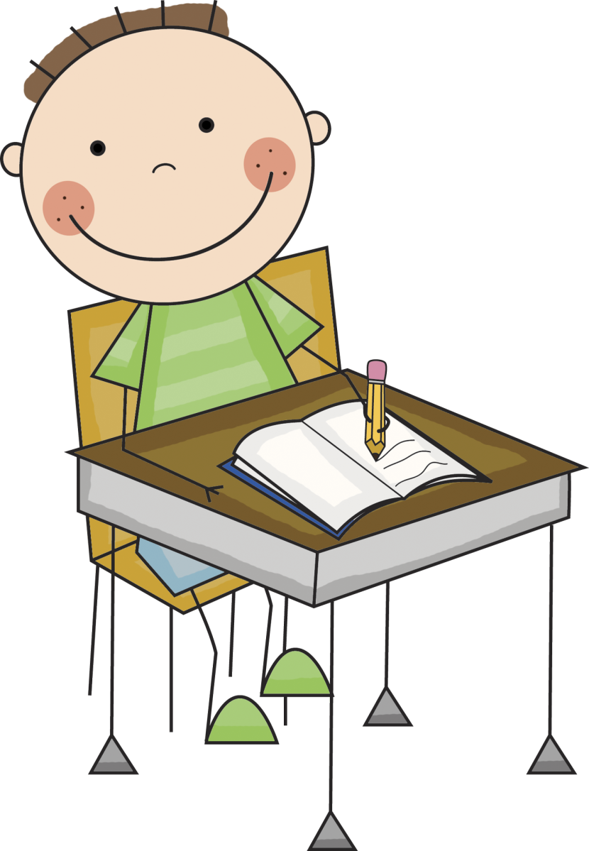 clip art library stock Png writing kids transparent. Writer clipart homework
