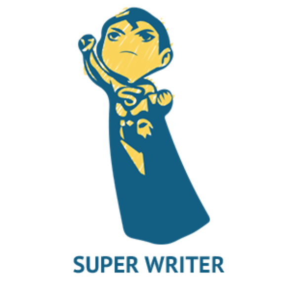 jpg royalty free stock  superpowers of freelance. Writer clipart academic writing.
