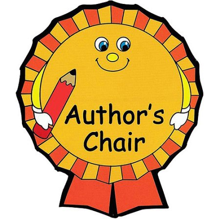 banner download Writer clipart author's chair. Author free download best
