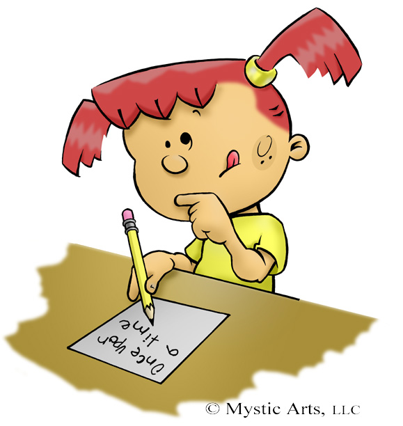 clip art stock Writer clipart cartoon. Free writing download clip.