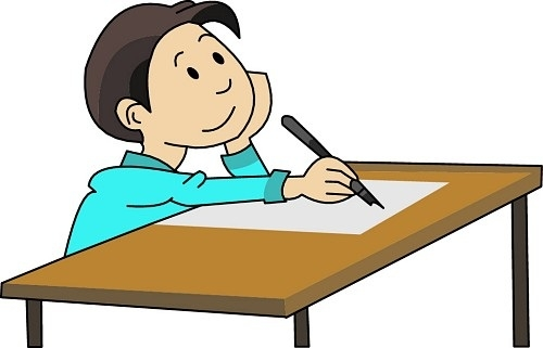 vector royalty free Writer clipart college essay. Write an live service.
