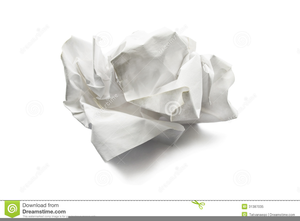 picture freeuse download Free images at clker. Writer clipart crumpled paper
