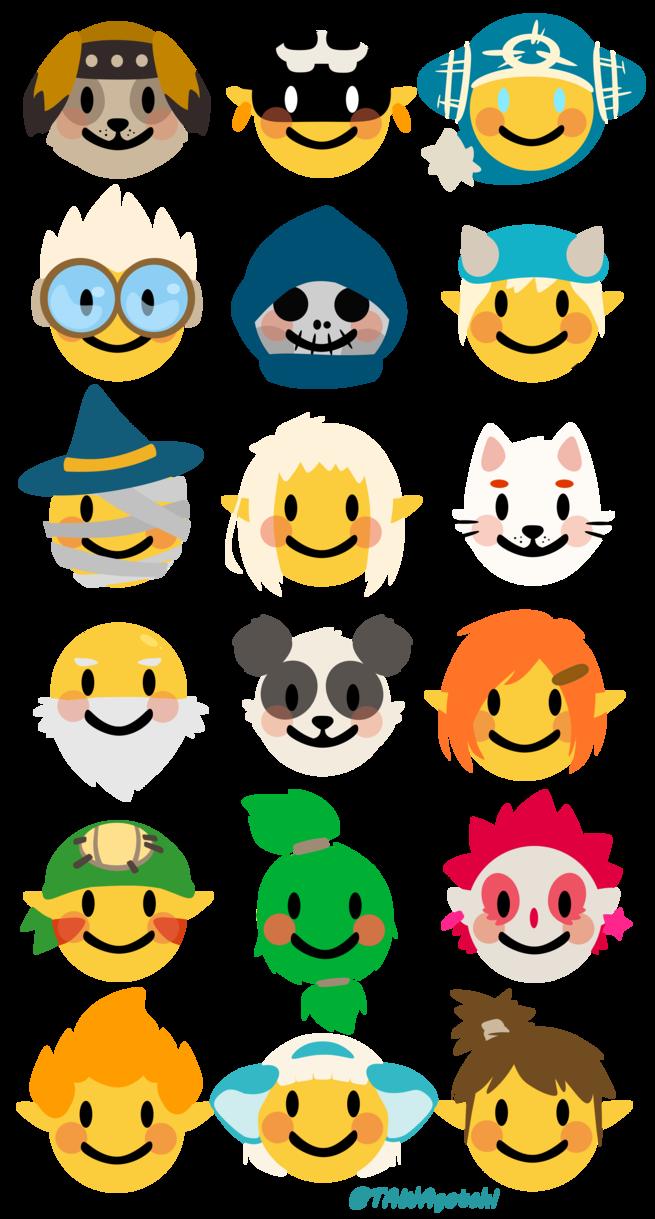 jpg Writer clipart emoji. Dofus emojis by tawahane