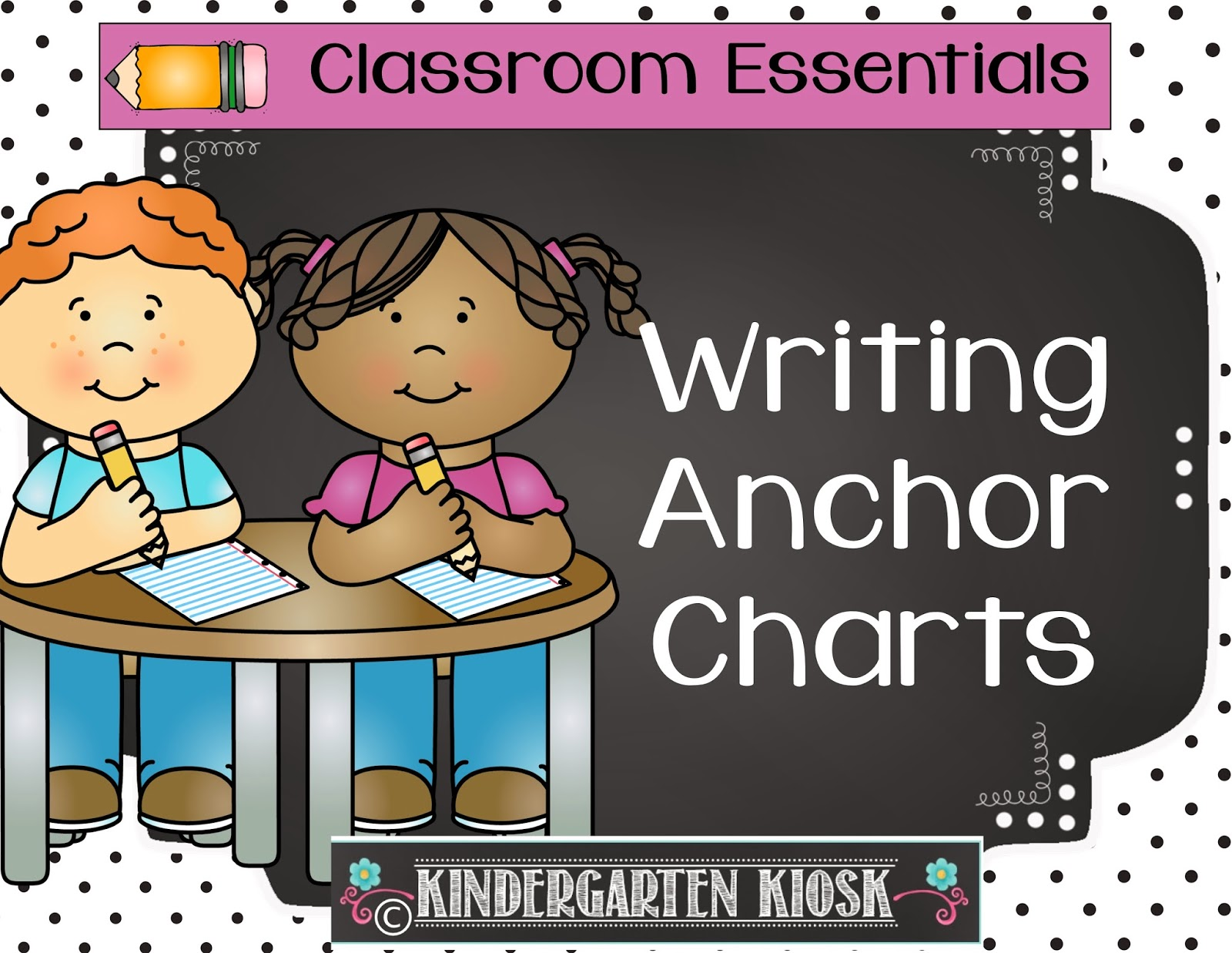 image freeuse Kindergarten kiosk center anchor. Writer clipart guided writing