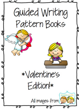 picture royalty free Valentine s day pattern. Writer clipart guided writing