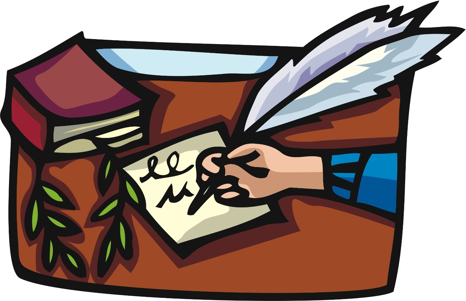 png free Writer clipart journalist. Writing station
