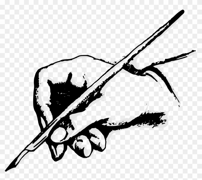 picture library stock Quill pens paper writing. Writer clipart kalam