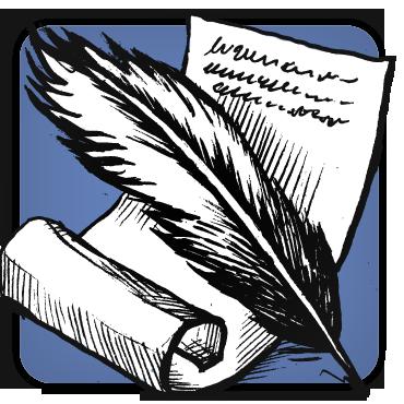 image black and white download Writer clipart memoir. Genre map