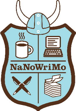 royalty free National novel writing month. Writer clipart novelist