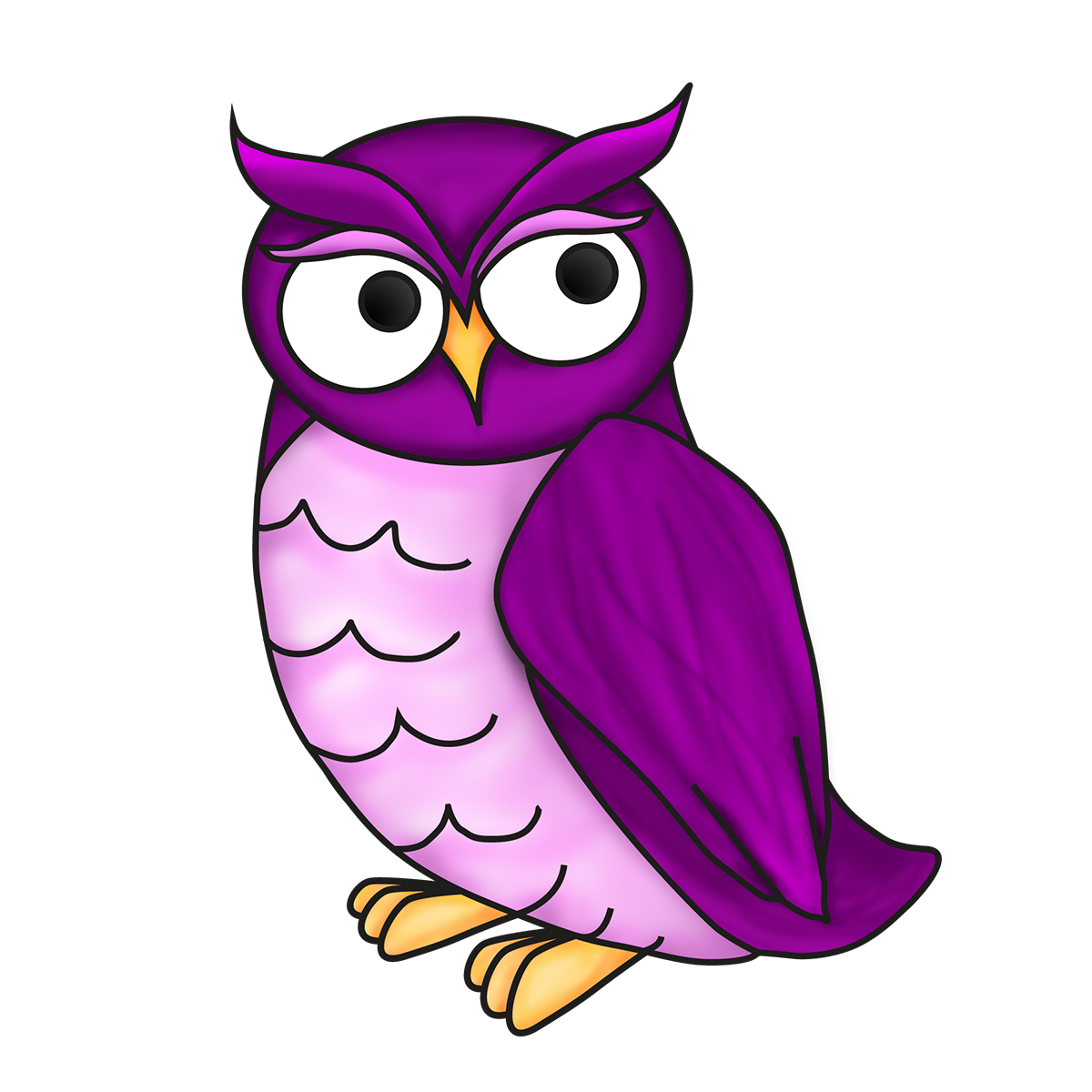 banner freeuse Online writing help com. Writer clipart owl