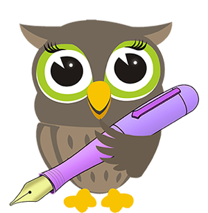 graphic free stock About us the curious. Writer clipart owl
